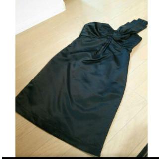 アナップ(ANAP)のsettimo  anap アナップ ワンショルダーワンピース ドレス(ミニワンピース)