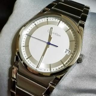 カルバンクライン(Calvin Klein)の美品☆Calvin Klein カルバンクライン メンズ腕時計(腕時計(アナログ))