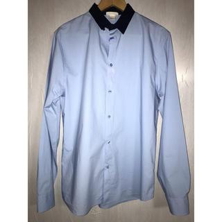 マルニ(Marni)のMARNI at H&M L/S SHIRT ライトブルー×ダークネイビー(シャツ)
