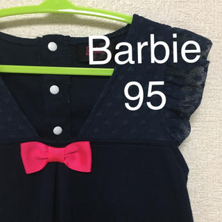 バービー(Barbie)の【美品】バービー ノースリーブワンピース95(ワンピース)