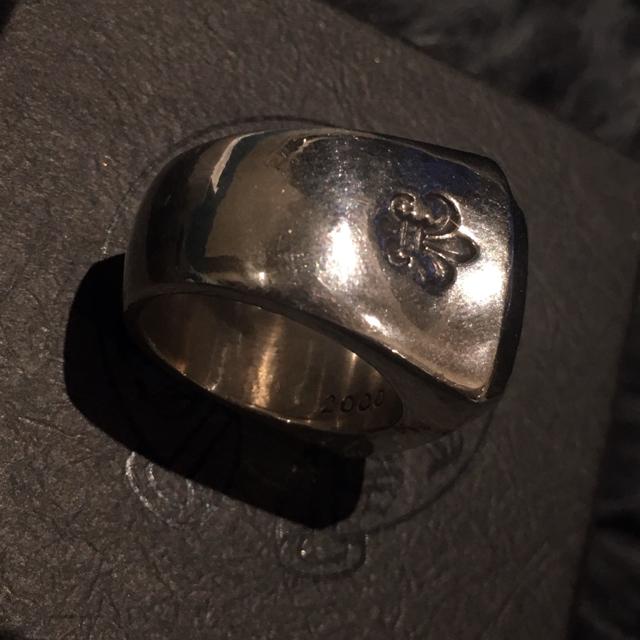 Chrome Hearts(クロムハーツ)のクロムハーツ ビッグPJプレーンリング クロス&BSフレアーサイド 16.5号 メンズのアクセサリー(リング(指輪))の商品写真