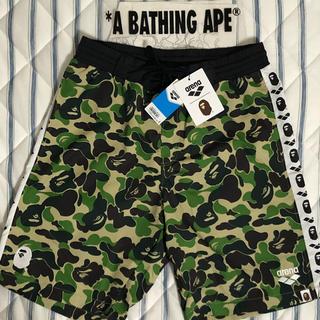 A BATHING APE - ARENA × BAPE SHORT PANTS SWIMWEAR 水着 エイプ