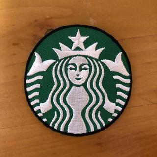 スターバックスコーヒー(Starbucks Coffee)のスターバックス ロゴ 人魚 女神 ワッペン(各種パーツ)