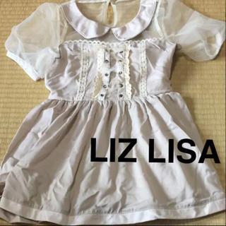 リズリサ(LIZ LISA)のリズリサ ミニワンピース(ミニワンピース)