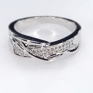 ★新品★ レディース リング 指輪 コッパー ジルコニア YR6409(リング(指輪))