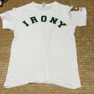 アイロニー(IRONY)のアイロニーのTシャツです。(Tシャツ(半袖/袖なし))