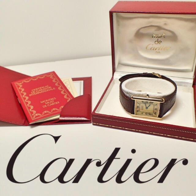 時計 オメガ リダン / Cartier - カルティエ マストタンク ヴェルメイユ ヴィンテージの通販 by marchen shop|カルティエならラクマ