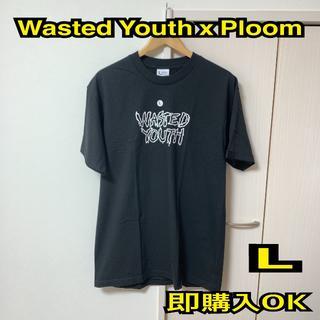 シュプリーム(Supreme)の即購入OK 希少 L ウェステッドユース プルーム Tシャツ 黒(Tシャツ/カットソー(半袖/袖なし))