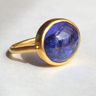 大粒タンザナイト 可動式 リング k18 検索 マリーエレーヌ ジェムパレス(リング(指輪))