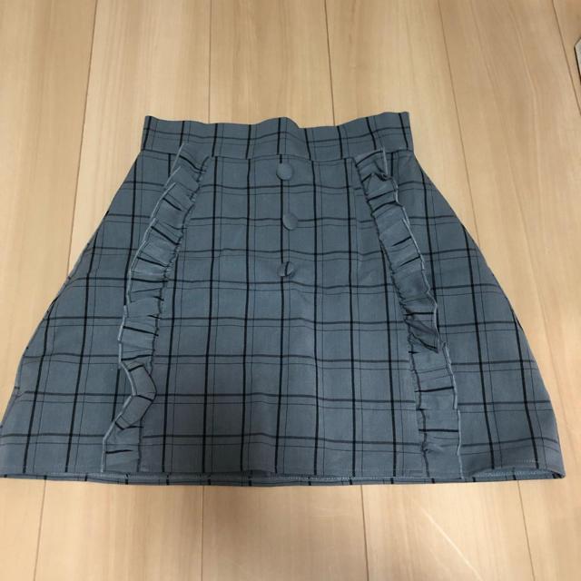 evelyn(エブリン)のチェックスカート レディースのスカート(ミニスカート)の商品写真