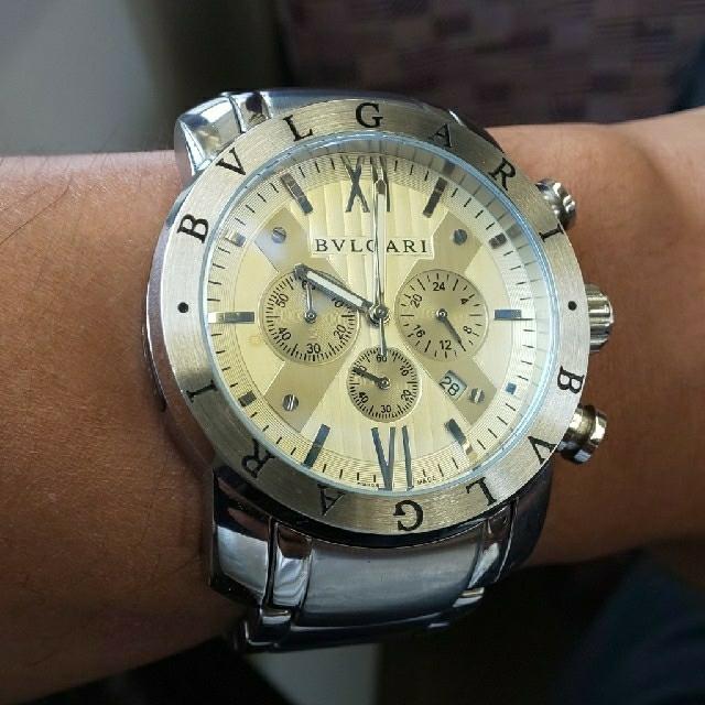 hublot 時計 ホワイト - BVLGARI - [中古品]men's腕時計ブルガリ [値下げ中]の通販 by 山さん's shop|ブルガリならラクマ