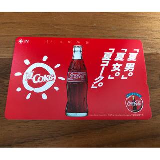 コカコーラ(コカ・コーラ)のコカコーラ テレフォンカード 50度数 未使用(その他)