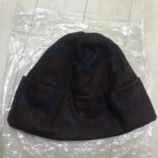 シャネル(CHANEL)の本物 正規品 CHANEL ニット帽 可愛い!お洒落 素敵 帽子(ニット帽/ビーニー)