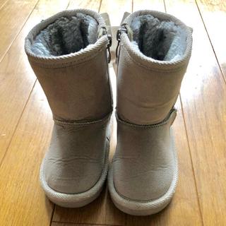 プティマイン(petit main)のプティマイン、ムートンブーツ 14.0cm(ブーツ)