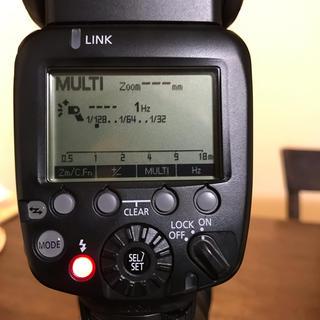 キヤノン(Canon)のCanon スピードライト 600EX-RT  カメラ ストロボ(ストロボ/照明)