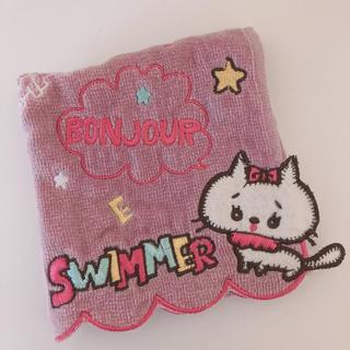 スイマー(SWIMMER)のswimmer ハンカチ❤︎(ハンカチ)