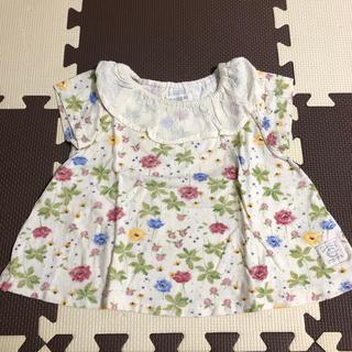 シマムラ(しまむら)のconoco ボタニカル柄トップス(Tシャツ/カットソー)