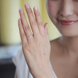 ヨンドシー(4℃)の専用✨4℃ K10 ホワイトゴールド リング 指輪(リング(指輪))