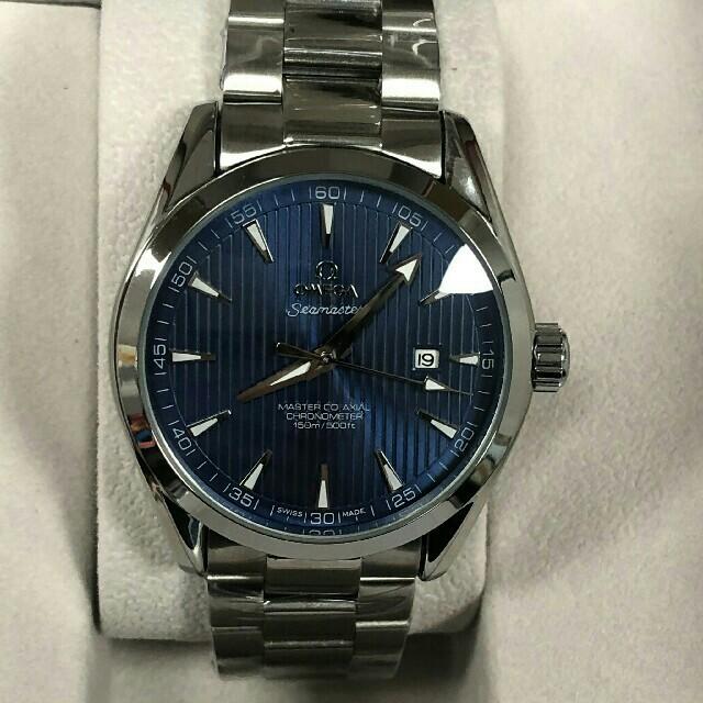 OMEGA オメガSeamaster シーマスター 男性 アクアテラ 腕時計の通販 by パヘホ's shop|ラクマ