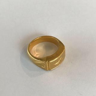 純金 18.7g K24 指輪(リング(指輪))