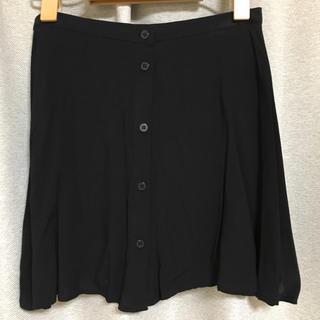 エイチアンドエム(H&M)のミニスカート 黒(ミニスカート)