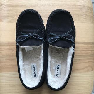 オールドネイビー(Old Navy)のモカ スリッポン靴(スリッポン/モカシン)