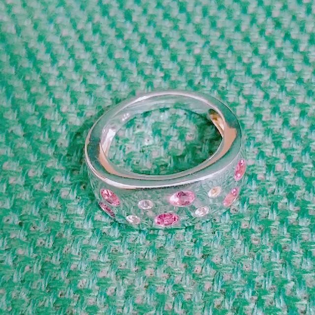 シルバーリング 天然石 レディースのアクセサリー(リング(指輪))の商品写真