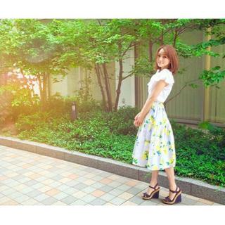 チェスティ(Chesty)の美品 チェスティ  人気完売 レモンスカート(ひざ丈スカート)