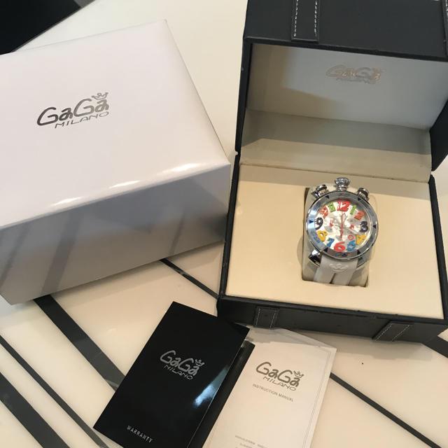 時計 偽物 ネタ - GaGa MILANO - ガガミラノ マヌアーレ クロノグラフ 48mmの通販 by サリー9888's shop|ガガミラノならラクマ