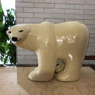 リサラーソン(Lisa Larson)のリサラーソン   クマ  大サイズ 置物  美品(置物)