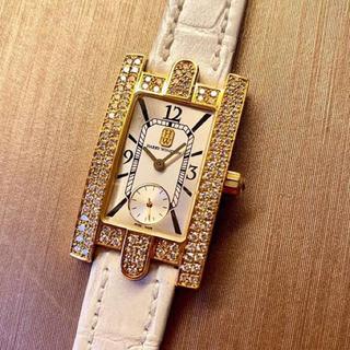 ハリーウィンストン(HARRY WINSTON)のハリーウィンストン アヴェニュー イエローゴールド(腕時計)