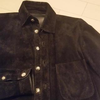 クロムハーツ(Chrome Hearts)のまーくん専用 クロムハーツ レザーシャツ 美品  ジャケット (レザージャケット)