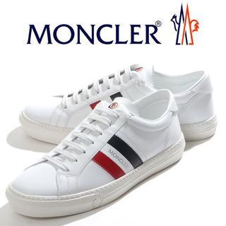 モンクレール(MONCLER)の専用 34 NEW MONACOホワイト スニーカーsize39.5(スニーカー)