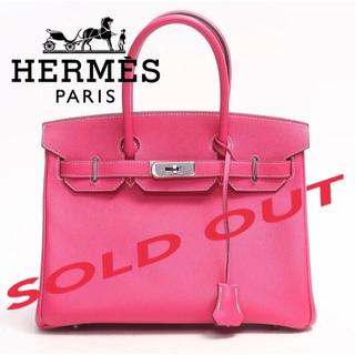エルメス(Hermes)のHERMES♡新品未使用♡バーキン30 キャンディ ローズティリアン x トスカ(ハンドバッグ)
