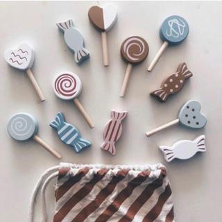 キャラメルベビー&チャイルド(Caramel baby&child )の可愛い Candy set ♡ Kids Concept おままごと 知育玩具(知育玩具)