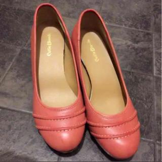 キューティーブロンド(Cutie Blonde)のピンク パンプス 靴 キューティーブロンド コキュ エスペランサ24.5(ハイヒール/パンプス)