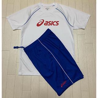 アシックス(asics)のasics アシックス プリント 吸汗速乾 Tシャツ セットアップ 160サイズ(Tシャツ/カットソー)