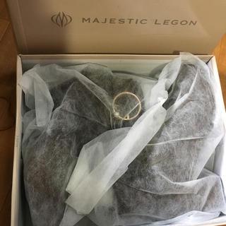 マジェスティックレゴン(MAJESTIC LEGON)の新品♡6260円 マジェスティックレゴン ショートブーツ ダークブラウン大特価!(ブーツ)