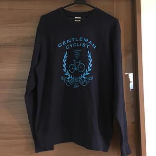 グラニフ(Design Tshirts Store graniph)の【新品】長袖トレーナー グラニフ Mサイズ メンズ ユニセックス ネイビー(スウェット)