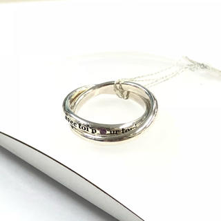 r8 9号 swc シルバーリング ピンサファイア(リング(指輪))