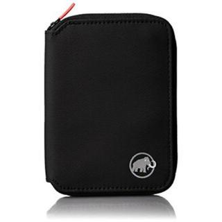 マムート(Mammut)のMAMMUT マムート 財布 サイフ Zip Wallet ブラック 旅行(折り財布)