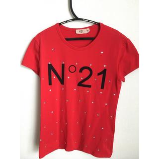 ヌメロヴェントゥーノ(N°21)のヌメロヴェントゥーノ N°21 キッズ Tシャツ 42(Tシャツ(半袖/袖なし))