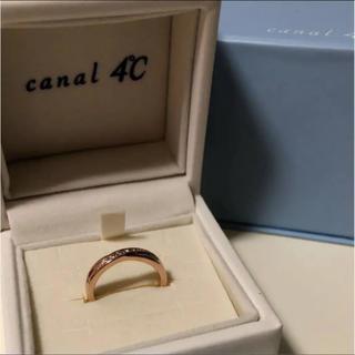 ヨンドシー(4℃)の4°C リング ピンクゴールド 最終値下げ(リング(指輪))