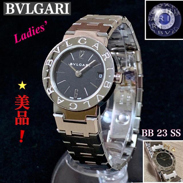 ローズゴールド 時計 オメガ / BVLGARI - BVLGARI/ブルガリブルガリ レデース腕時計BB23SSクォーツの通販 by '♡ayaka.・:*s shop |ブルガリならラクマ
