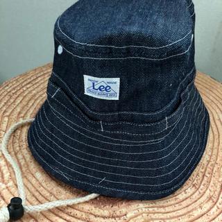 リー(Lee)のLee デニム  ハット 48cm ベビー(帽子)
