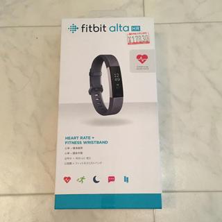フィットフィット(fitfit)のFitbit Alta HR ブルーグレー Sサイズ(腕時計(デジタル))
