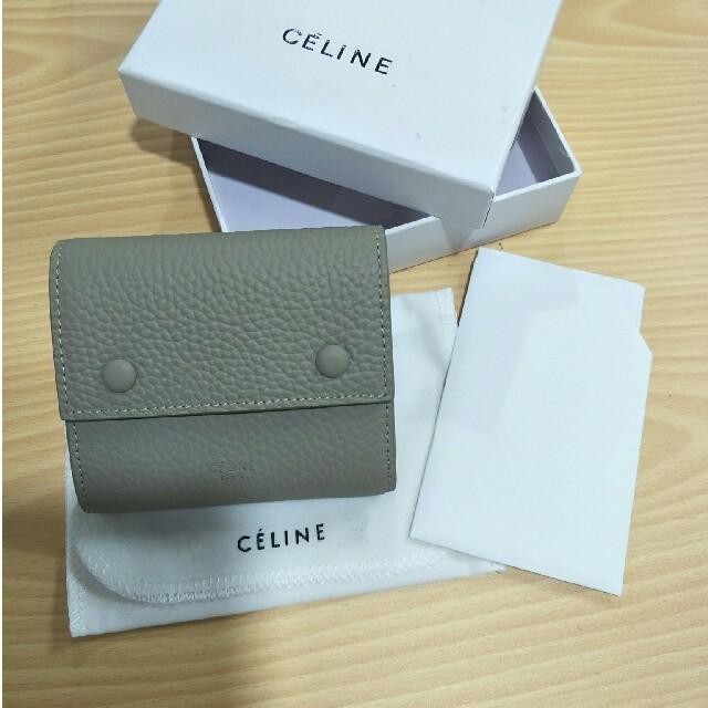 celine - お勧めセリーヌ 三つ折り財布 Celine エレガント 正規品の通販 by ONEAR's shop|セリーヌならラクマ