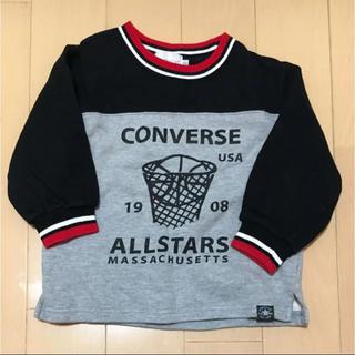 コンバース(CONVERSE)のコンバース トレーナー トップス 100(Tシャツ/カットソー)