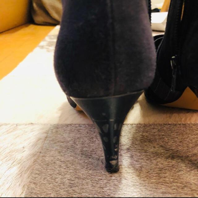 Odette e Odile(オデットエオディール)のOdette e Odile オデットエオディール ショートブーツ リボンブーツ レディースの靴/シューズ(ブーツ)の商品写真