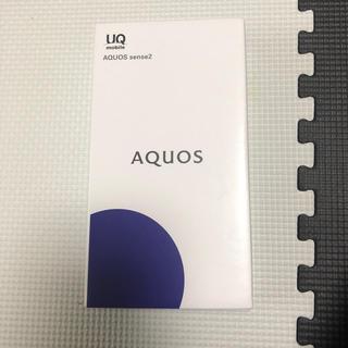 アクオス(AQUOS)のAQUOS sense2 ✨ピンクゴールド✨新品(スマートフォン本体)
